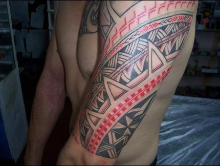 Samoan Design Arm