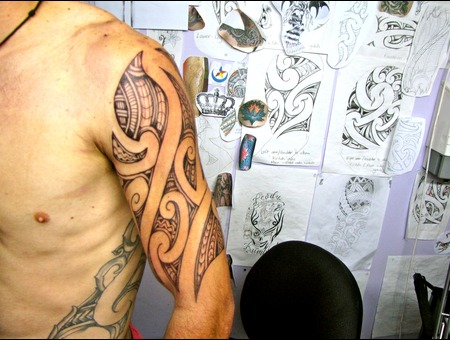 Nz Maori Tamoko Shoulder