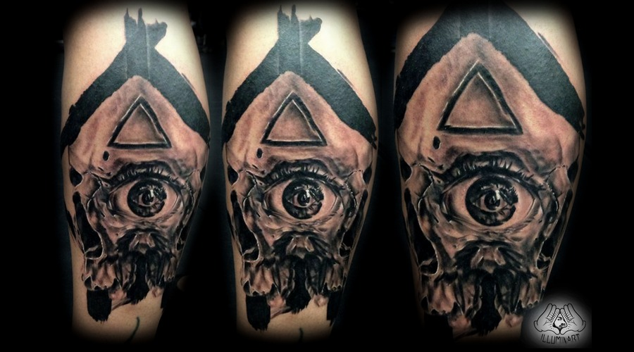 Third Eye Skull Lower Leg