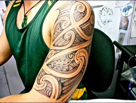 Maori Tamoko Shoulder