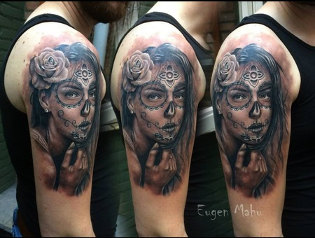 Portrait  Tattoo  Realistic  Face  Art  Realism Arm