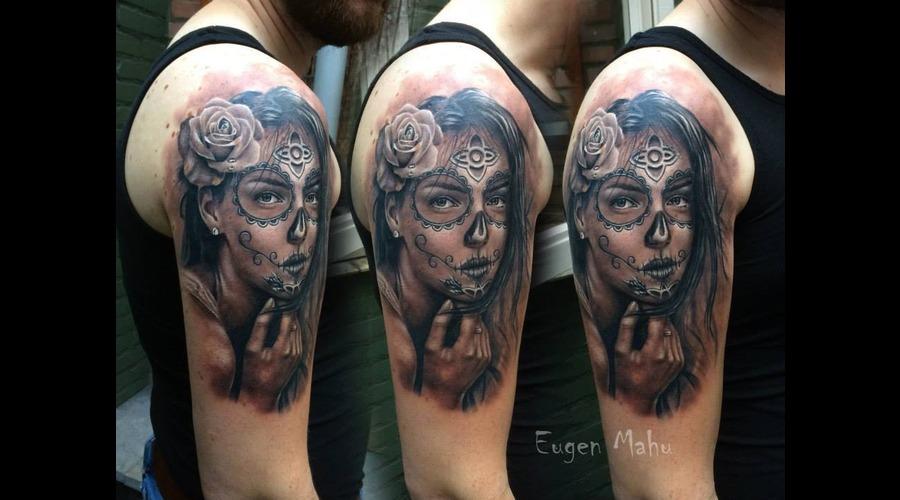Portrait  Tattoo  Realistic  Face  Art  Realism Arm
