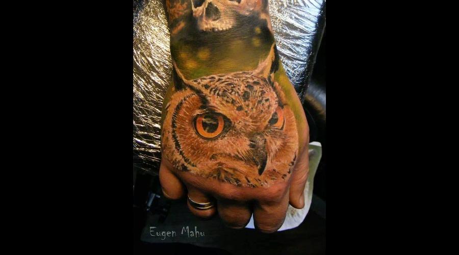Owl  Tattoo  Art  Realistic  Realism Forearm