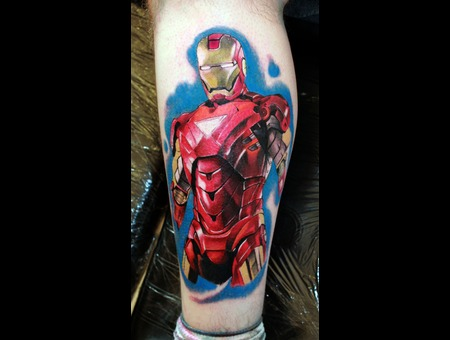 Iron Man Lower Leg