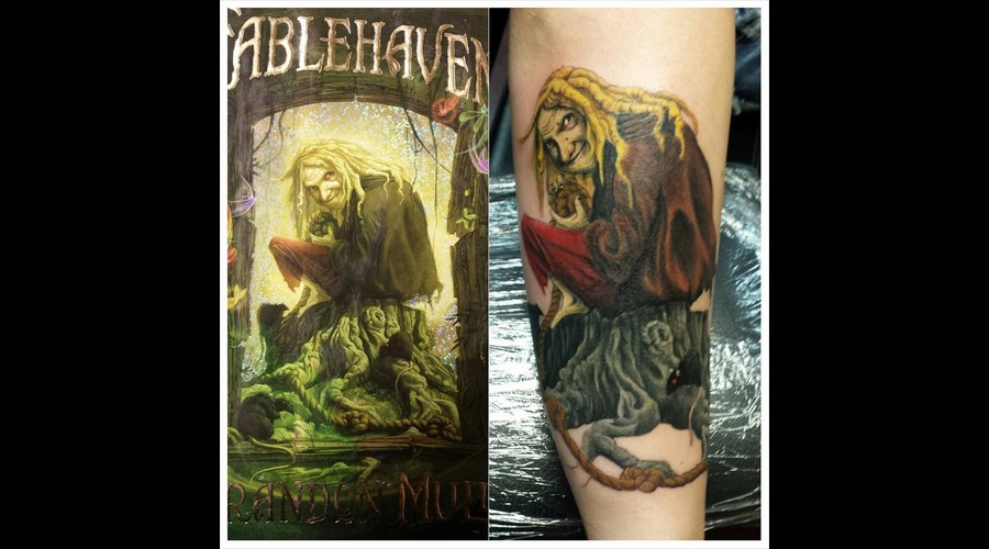Fablehaven  Book Tattoo  Color Tattoo Forearm