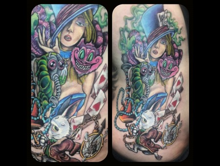 Girls  Color  Alice In Wonderland  Ribs