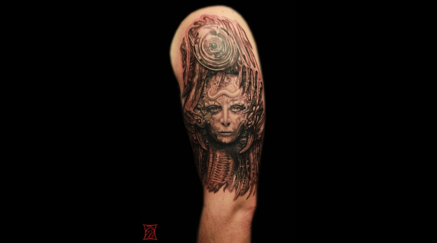 Tattooartist Montreal Gabor Zsil Arm