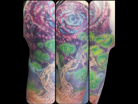 Space  Tree  Galaxy  Cats  Kitties Arm