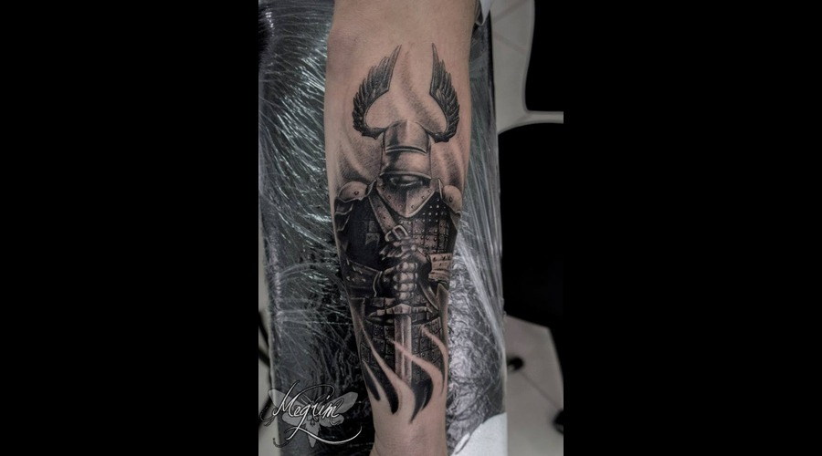 Knight  Knight Tattoo Arm