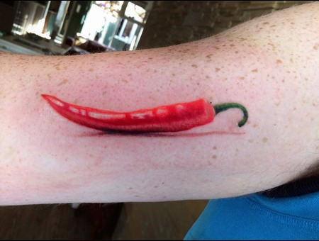 Realistic  Tattoo  Realism  Art  Pepper Arm