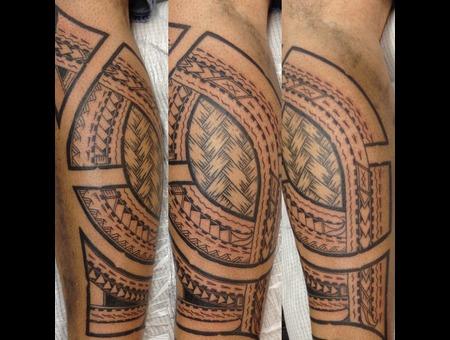 Polynesiantattoo  Polynesian  Tattau Black White