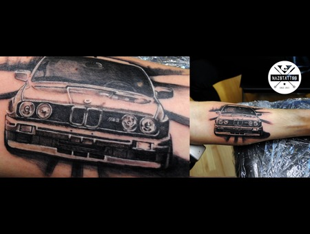 Bmw  Tattoo  Car  M3 Arm