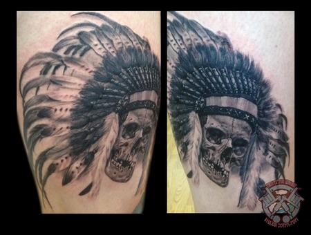 Indian Skull Thigh