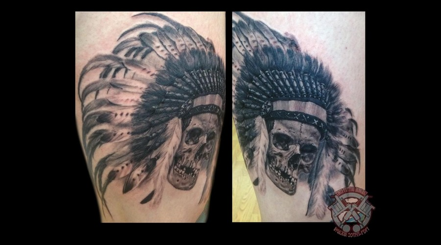 Indian Skull Thigh