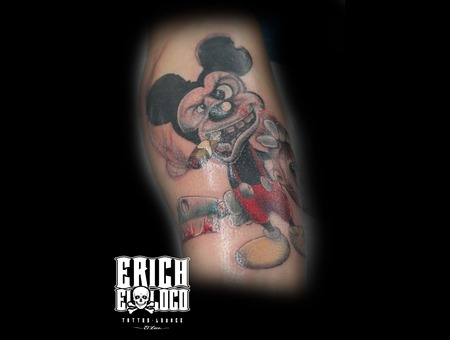 Mickey Mouse Forearm