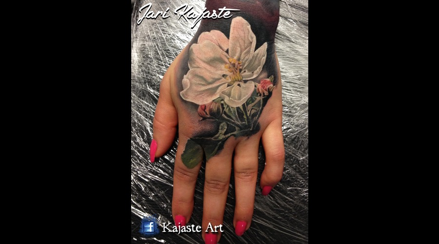 Apple Blossom  Cherry Blossom  Flower Forearm