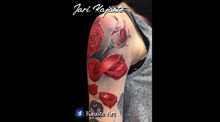 Red Roses  Rose  Flower  Petal Arm