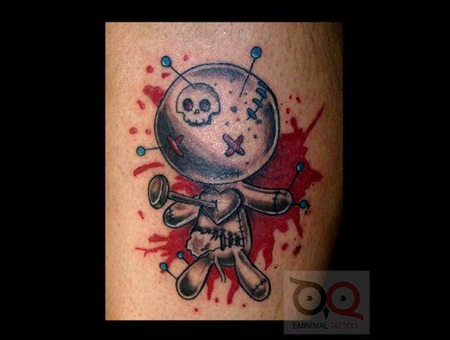 Voodoo Doll Lower Leg