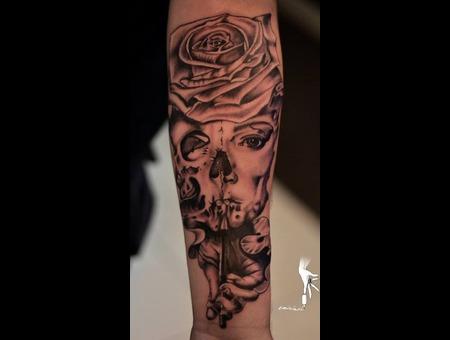 Skullgirl Forearm