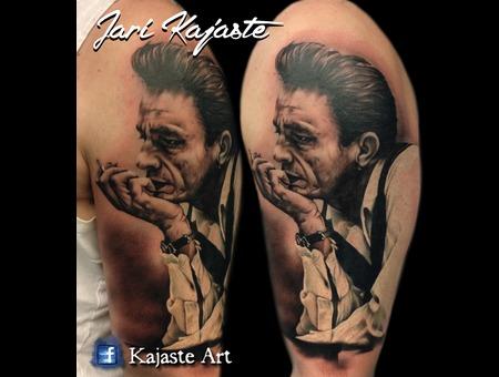 Johnny Cash  Portrait Arm