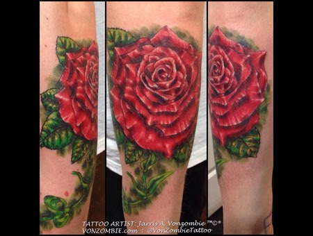 Rose  3d  Realism Forearm
