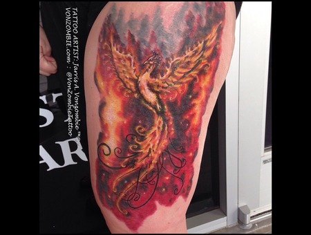 Phoenix  Ashes  Bird  Thigh
