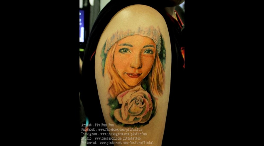 Kinki Ryusaki Color Portrait Done By Pit Fun Fun Arm