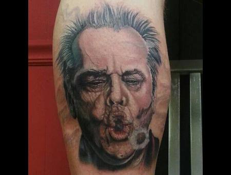 Jack Nicholson Lower Leg