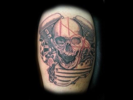 Skull Lower Leg