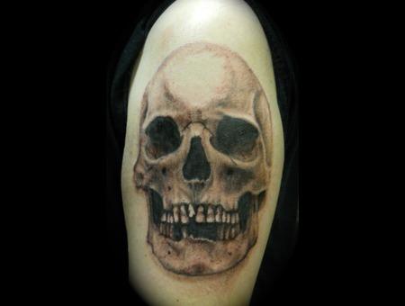 Realistic Skull Arm
