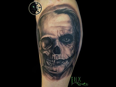 Jocker  Skull Lower Leg