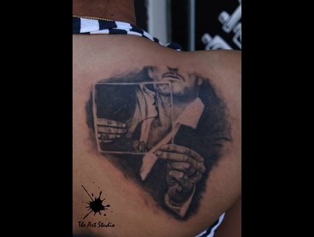 Fantasytattoo Realistictattoo Tattoos In  India Back