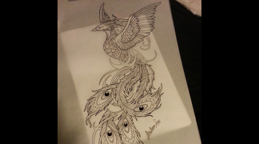 Custom Tattoo Design By Olivia Moonchild
