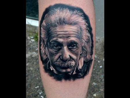 Einstein  Foot