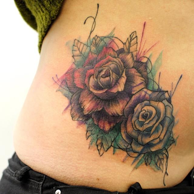 Alberto cuerva certified artist for Modern art tattoo