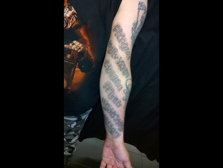 Lettering Arm