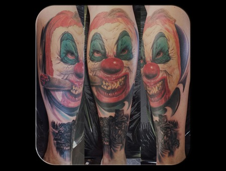 Clown Lower Leg
