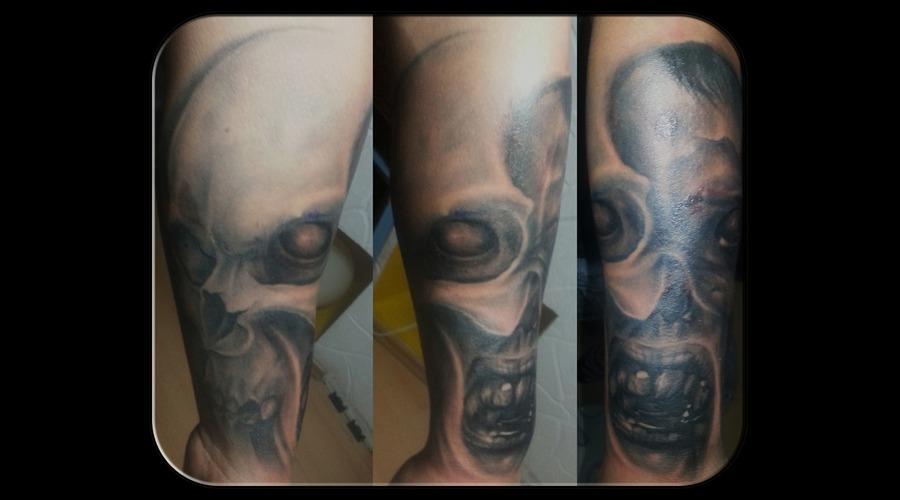 Dark Style Forearm