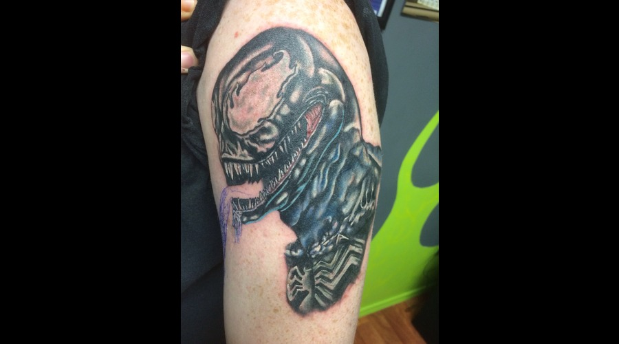Venom  Cover Up Arm