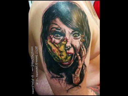 Horror  Portrait  Realism Shoulder