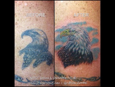 Coverup  Eagle  American  Bird Shoulder
