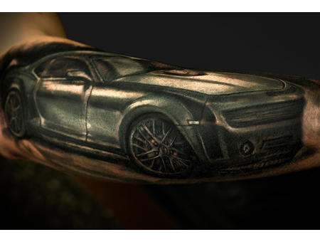 Realism Car Forearm