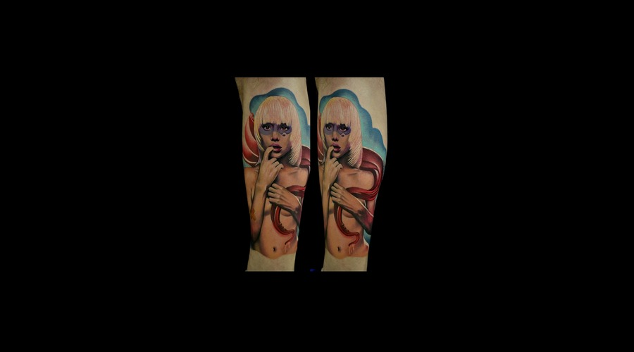 Woman Tattoos  Color Realism Tattoos  Photorealistic Tattoos   Lower Leg