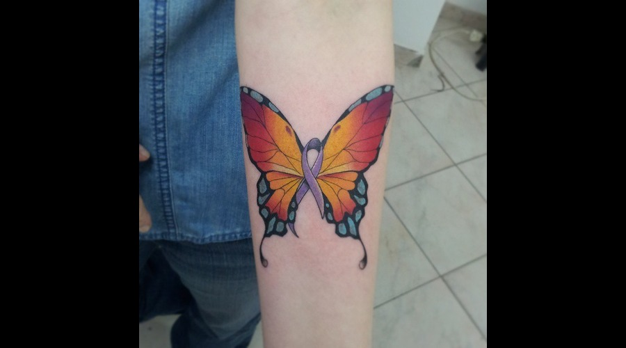 Color.Butterfly Forearm