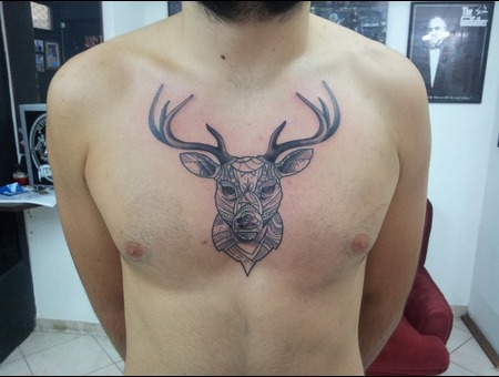 Deer.Newschool.Geometrical Chest
