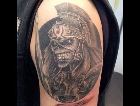 Ironmaiden.Eddie Shoulder