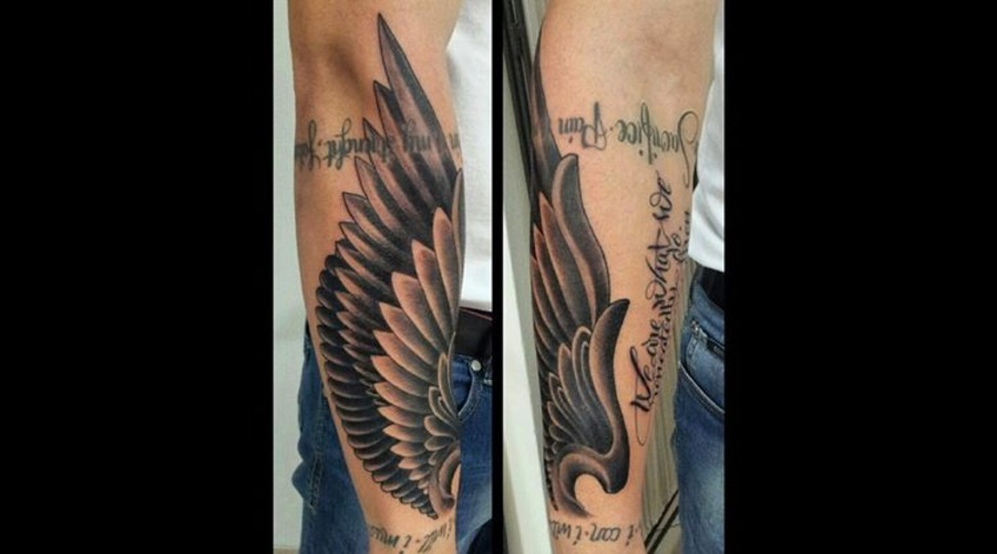 Angelwings.Wings Forearm