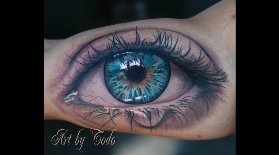 Realistic Eye Arm