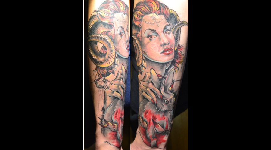 Neo Traditional Forearm