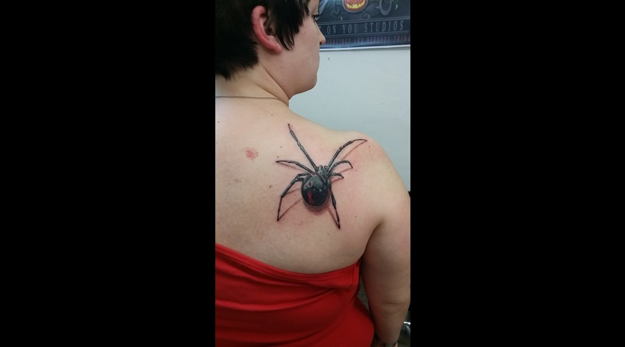 Spider  3d  Realism Shoulder